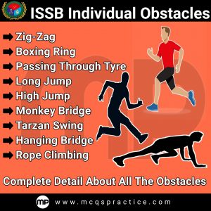 ISSB INDIVIDUAL OBSTACLES - PICTURES + VIDEOS - MONKEY BRIDGE - LONG JUMP - HIGH JUMP - TARZAN SWING - DITCH - PASSING THROUGH TYRE - ZIG-ZAG -ROPE CLIMBING - BOXING RING - HANGING BRIDGE