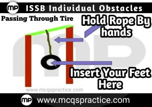 PASSING THROUGH TIRE - ISSB INDIVIDUAL OBSTACLE- ISSB TEST PREPARATION