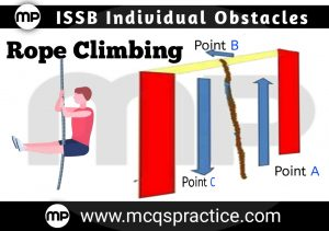 Rope Climbing - ISSB INDIVIDUAL OBSTACLE- ISSB TEST PREPARATION