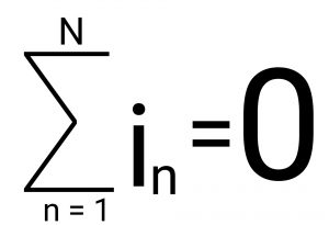 Compact expression for kirchhoff's current law